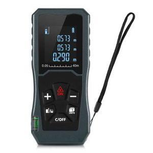 IP54 Fonction Risepro T/él/ém/ètre laser Laser Mesure Distance Surface Volume Mesure 0,05 /à 60 m T/él/èm/ètre 0,16 /à 60 m