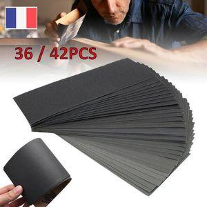 50 Pcs 6 pouces Oxyde d/'Aluminium Blanc Sec Crochet et Boucle de ponçage disques 600 GRAIN