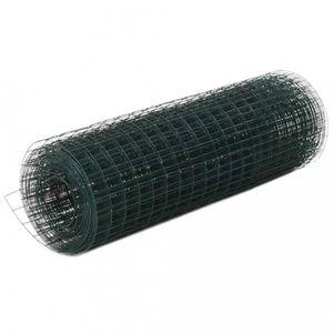 CLÔTURE - GRILLAGE P178 vidaXL Grillage Metal Acier et revetement en