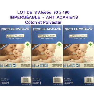 PROTÈGE MATELAS  3 Alèses Protège matelas - Housse imperméable - An