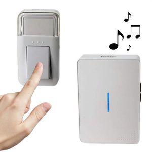 Branchez numérique sans fil carillon de porte-long range jusqu/' à 100 m 16 24 25 sons