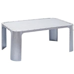 Table basse argente achat vente table basse argente for Table basse argent