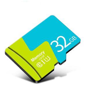 CARTE MÉMOIRE Carte mémoire Carte Micro SD TF Vitesse de transfe