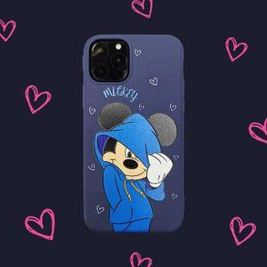 COQUE - BUMPER Coque iPhone 11,Disney Bleu Mickey Antichoc 1 Prem