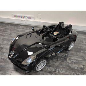 VOITURE ENFANT Voiture électrique enfant Mercedes SLR Noir métal