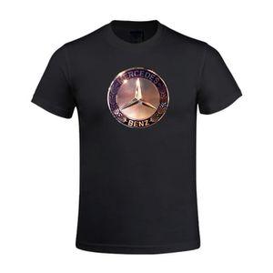 T-SHIRT T-shirt Homme Mercedes Benz Logo Manches courtes I