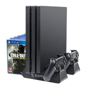 DOCK DE CHARGE MANETTE Support de refroidissement pour PS4 / PS4 Slim / P