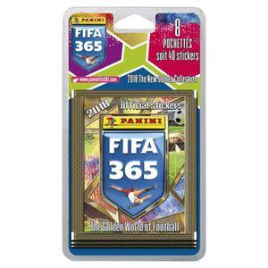 JEU DE STICKERS PANINI FIFA 365 2018 Blister de 8 Pochettes