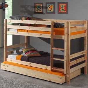 lit superpos bois achat vente lit superpos bois pas. Black Bedroom Furniture Sets. Home Design Ideas