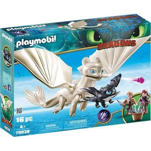 UNIVERS MINIATURE PLAYMOBIL 70038 - Dragons 3 - Furie Éclair et bébé