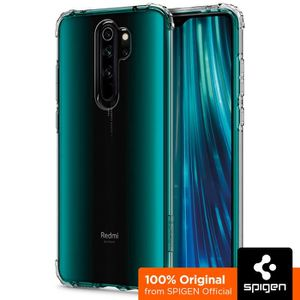 COQUE - BUMPER Spigen Coque Redmi Note 8 Pro [Crystal Shell] Tran