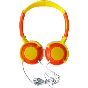 CASQUE AUDIO ENFANT VIDEOJET Casque Audio Pliable Jaune