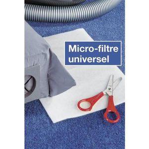 PIÈCE ENTRETIEN SOL  Micro-filtre universel pour aspirateur