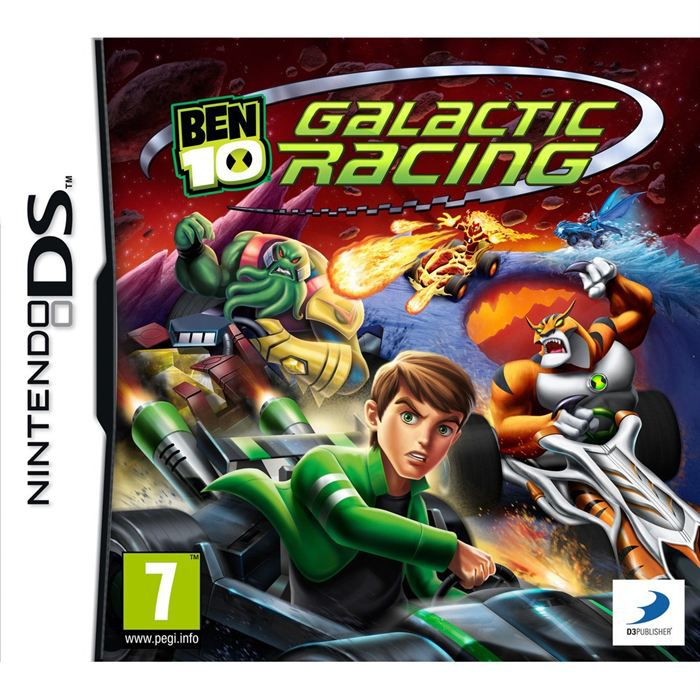 ben 10 galactic racing jeu console ds achat vente jeu ds dsi ben 10 galactic racing ds. Black Bedroom Furniture Sets. Home Design Ideas