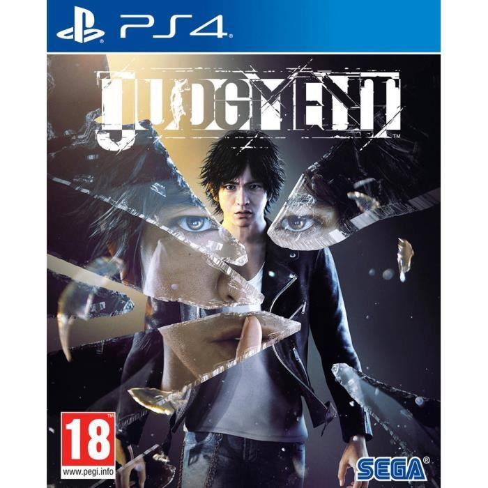 Judgment Jeu PS4