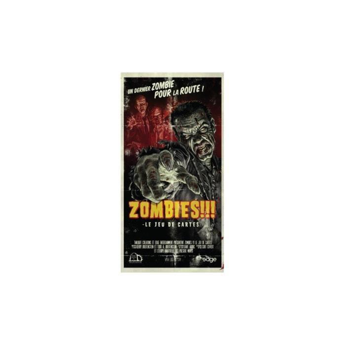 Jeux de société - Zombies !!! - Jeu de cartes