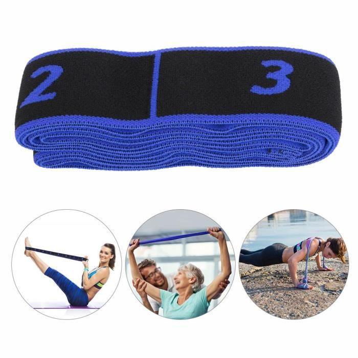 AIZ Fitness Elastic Bands Resistance Belt Yoga Sling Accessoire d'exercice pour la formation (bleu)