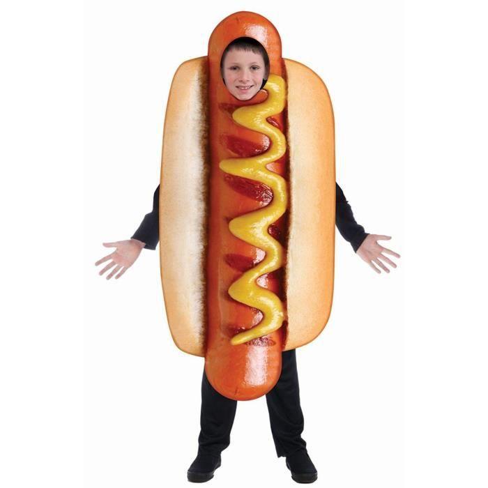 Docteur T5FZ6 Inc - Sublimation Hot Dog Costume Costume