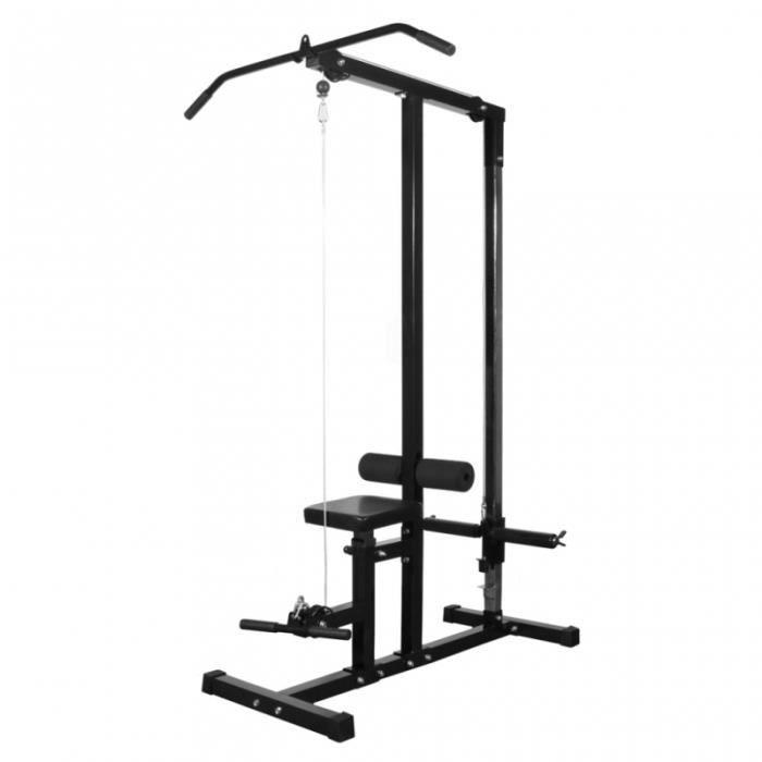 Appareil à charge guidée sans poids sport fitness musculation 0702055