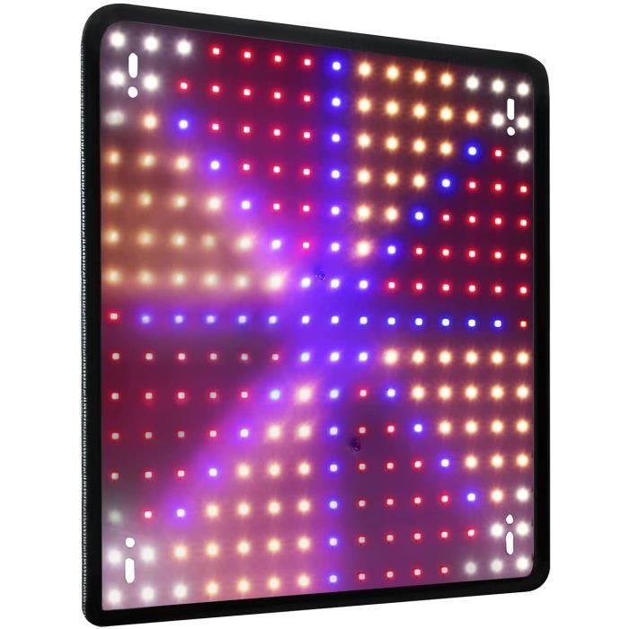 LED élèvent la lumière pour les plantes dintérieur lampe de culture UV IR rouge bleu spectre complet des lumières des plantes pan305