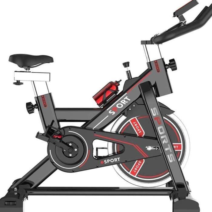 Lloow Mouvement intérieur en Position Verticale Exercice Professionnel Entraînement aérobie Vélo Spinning Maigrir Spin vélo Guidon a