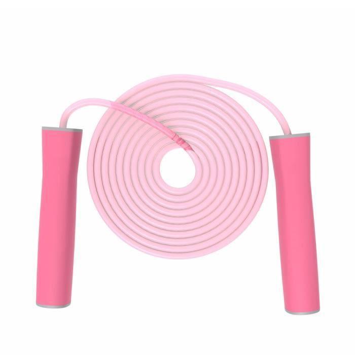 Accessoires Fitness - Musculation,Cordes à sauter pour enfants cordes à sauter pour filles avec poignée souple réglable - Type PINK