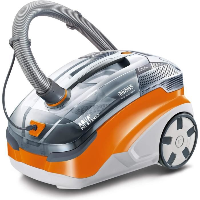 Aspirateurs balais Thomas 788568 Aqua+ Pet & Family Aspirateur, 1700 W, 2.4 liters, Orange-Gris310