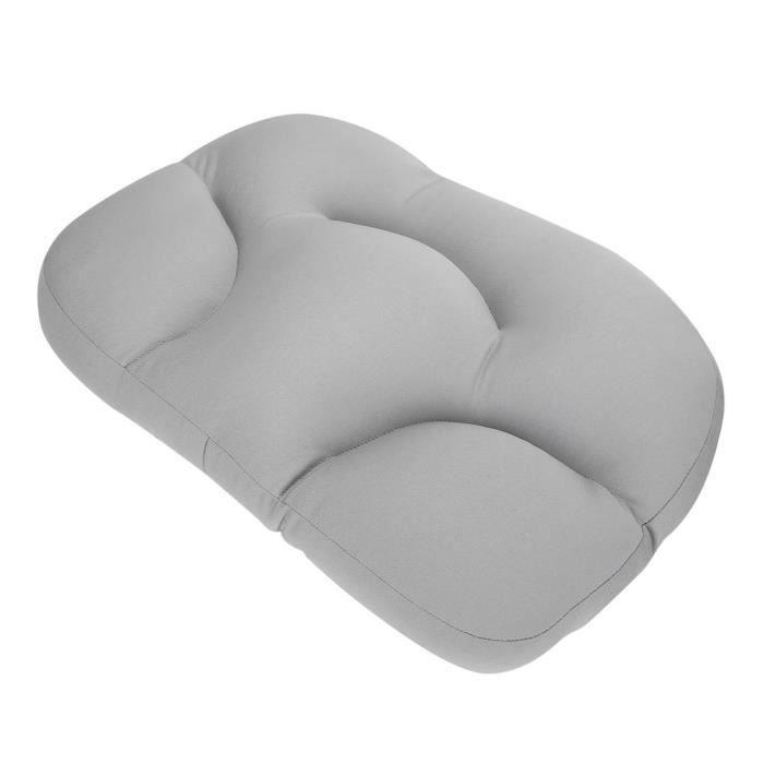 ESTINK oreiller moelleux Oreiller de sommeil en mousse multifonctionnel Oreiller de soins de soutien de la tête du cou doux pour la