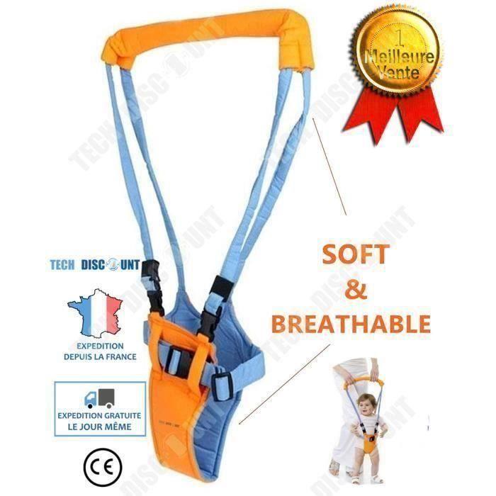 harnais de marche pour bébé enfant aide ceinture garcon fille leger securite apprentissage transport bretelle porte bébé protect