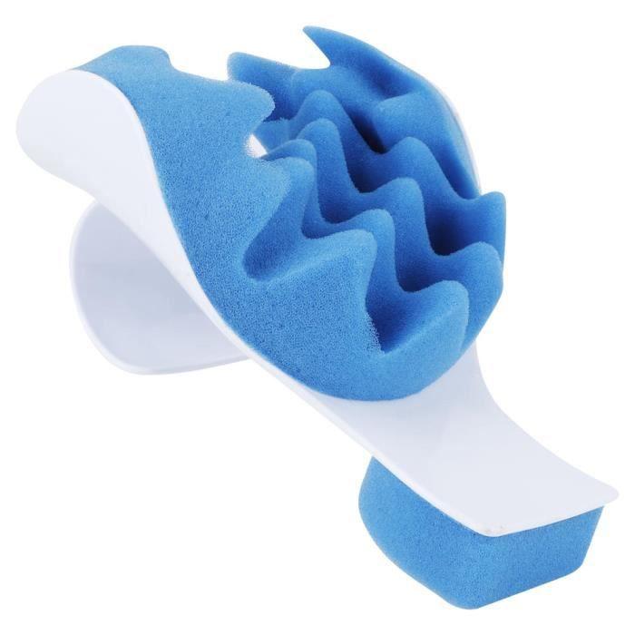 Fdit oreiller de cou Support de masseur de cou Oreiller de soulagement de massage de voyage Cou Épaule Dispositif de relaxation