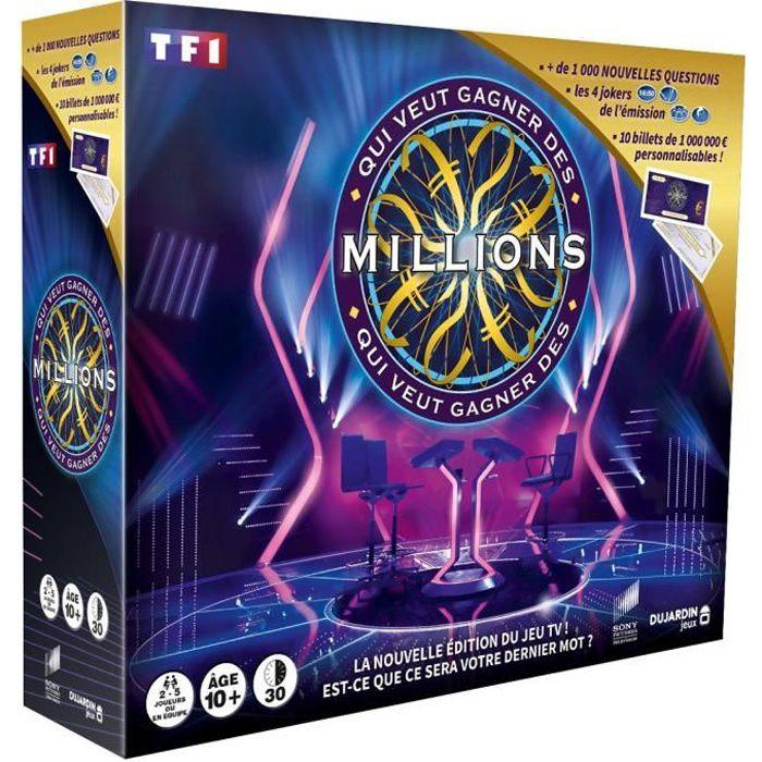 QUI VEUT GAGNER DES MILLIONS FAMILLE EDITION 3Retrouvez tout le suspense de l'émission dans la nouvelle édition famille du jeu avec