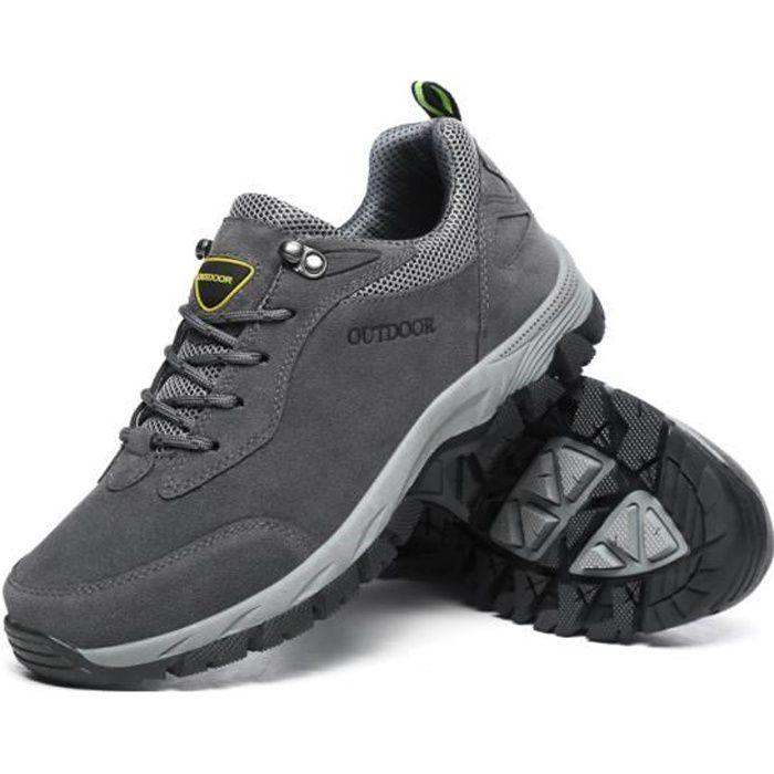 Aventurer Chaussures Randonnée Homme Imperméable Maintien Confort Respirant