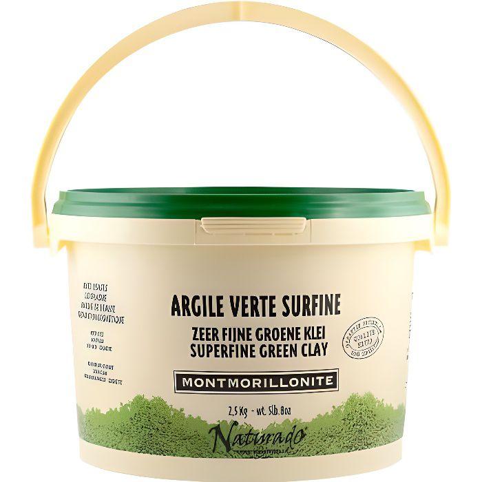 Naturado argile verte surfine usages multiples 2,5kg