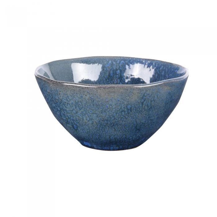 Bol lagon bleu 15 cm (lot de 3) - Table Passion Bleu