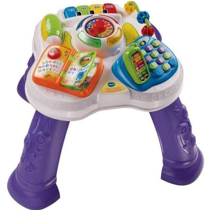 Vtech Play & Learn Table d'activité - Violet