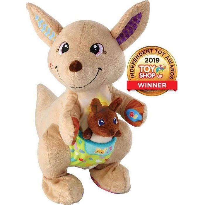 Le Vtech Hop-a-Roo Kangeroo est un amusement et jouets d'apprentissage interactif! Cette adorable houblon kangourou sur le sol et en
