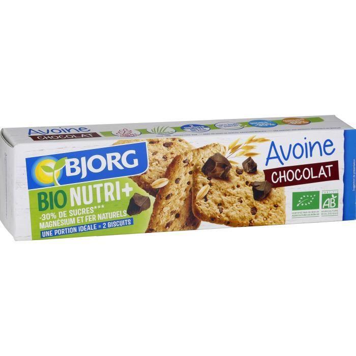Bjorg Biscuit Avoine Chocolat 130g