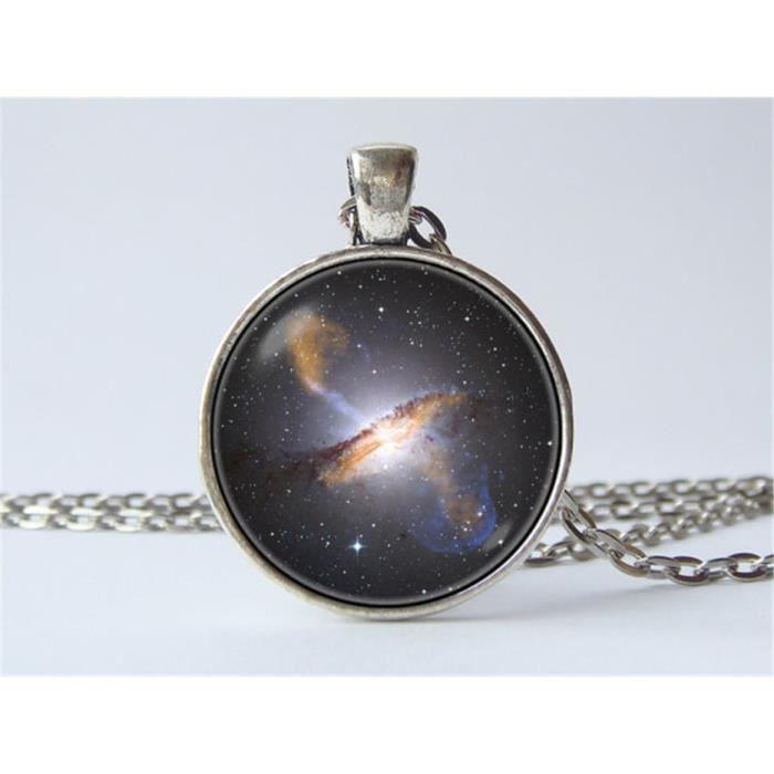 collier DE LEspace Univers Galaxy Nebula Collier pendentif lespace un superbe Cadeau. Galaxy Pendentif bijoux