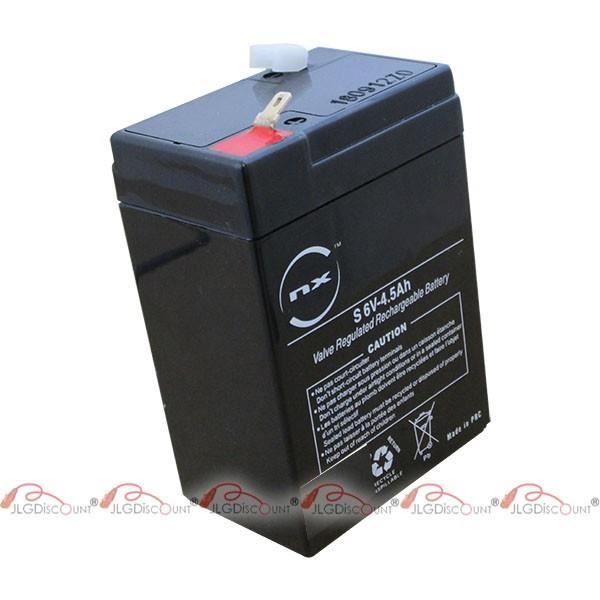 Batterie de plomb 6V 4,5Ah Les Batteries au Plomb-acide