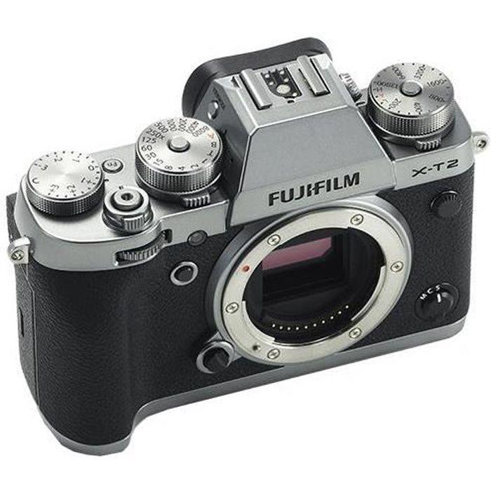 Photo de fujifilm-x-t2-boitier-nu-graphite-argent
