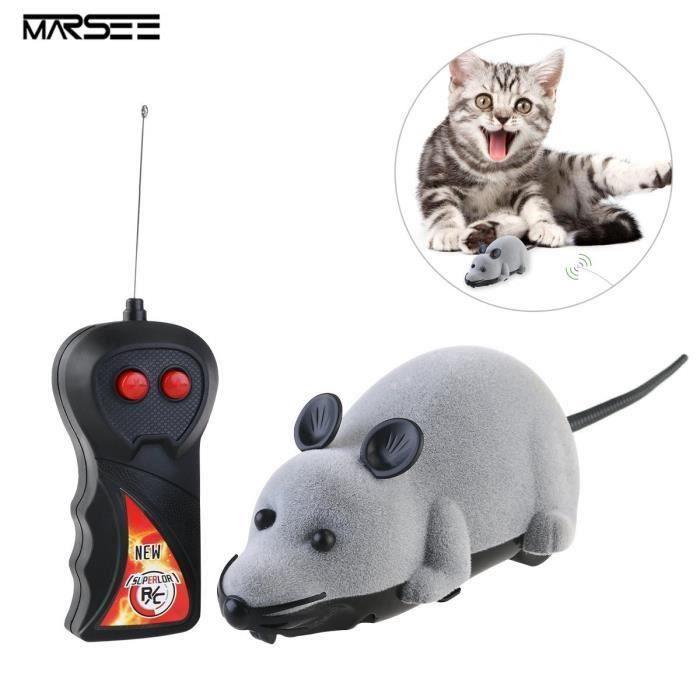 RC électrique télécommandées Rat Souris avec télécommande ANIMAL DE COMPAGNIE Chats Chiens