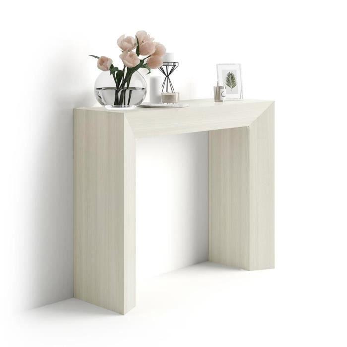 CONSOLE Mobilifiver Table console Giuditta, Orme Perle, 90
