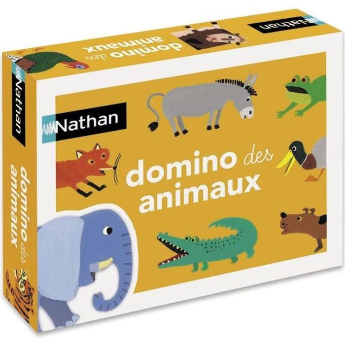 DOMINOS NATHAN - Le Domino Des Animaux