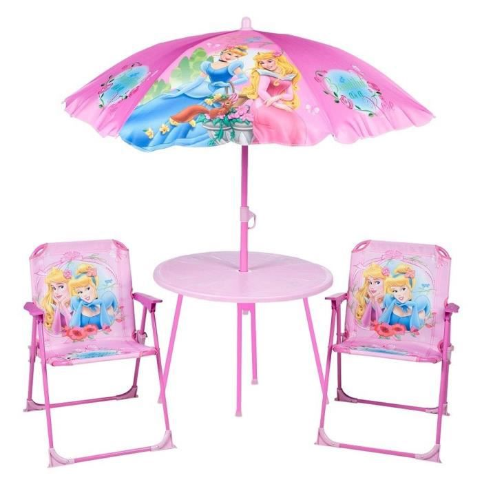 disney princesses ensemble de jardin achat vente salon de jardin cdiscount. Black Bedroom Furniture Sets. Home Design Ideas