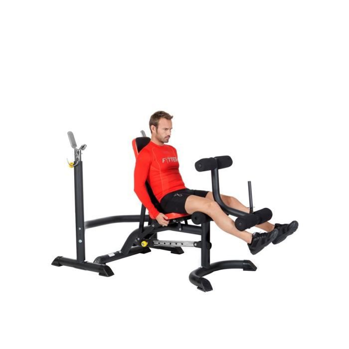 Fytter Banc De Musculation Semi Professionnel Be 05r Multi Exercices