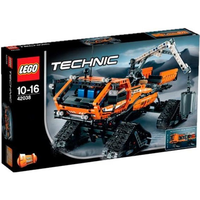 lego technic 42038 le v hicule arctique achat vente assemblage construction cdiscount. Black Bedroom Furniture Sets. Home Design Ideas