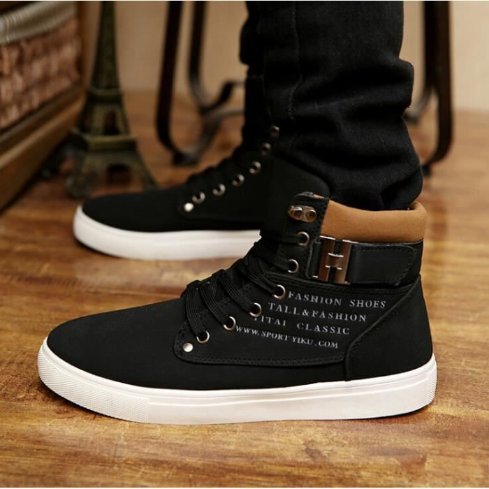 Basket chaussures Chaussure Skate montantes Shoes Homme Homme Mode n6pfIr6