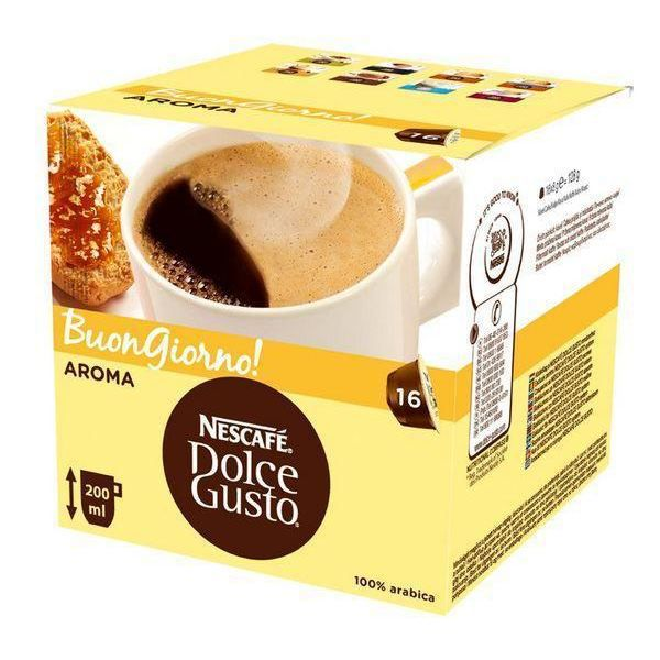 nescaf dolce gusto grande x16 capsules achat vente. Black Bedroom Furniture Sets. Home Design Ideas