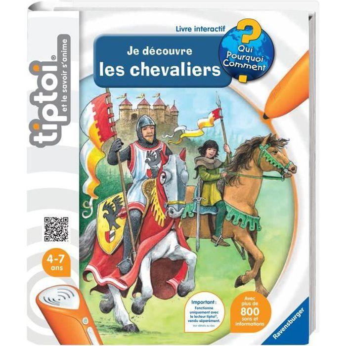 Tiptoi Livre Interactif Je Decouvre Les Chevaliers