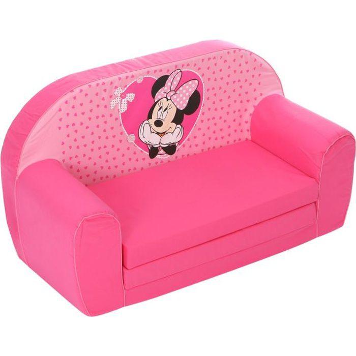 FAUTEUIL - CANAPÉ BÉBÉ MINNIE Canapé Mousse Sofa - Disney Baby